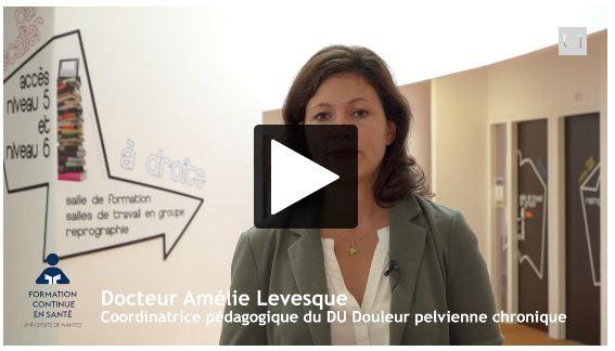 Entretien avec Amélie Levesque