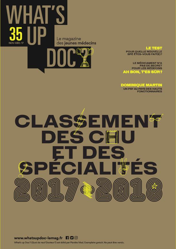 Couverture du Magazine What's up Doc